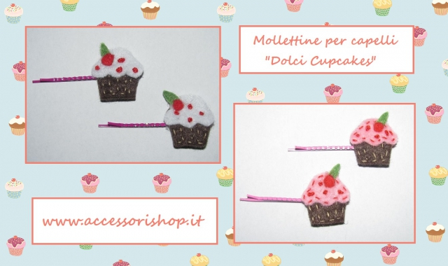 Mollettine dolci cupcakes